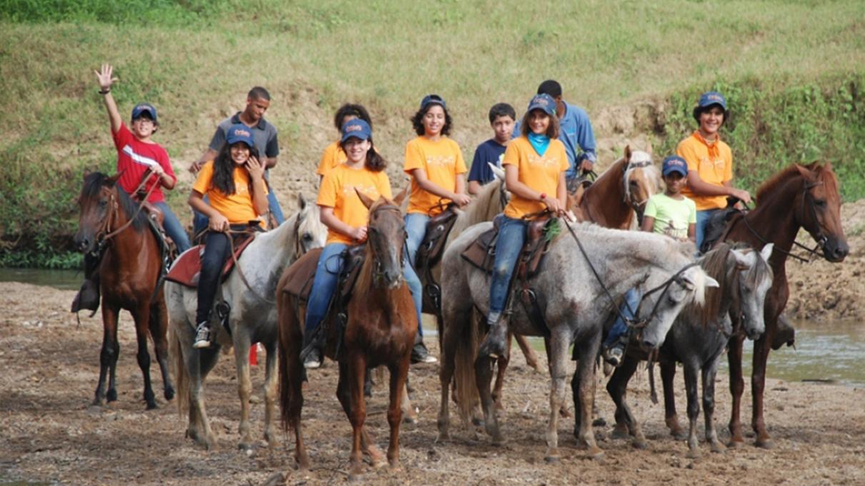 Paseo en caballos